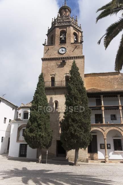 Colegiata Santa Maria La Mayor - foto de stock