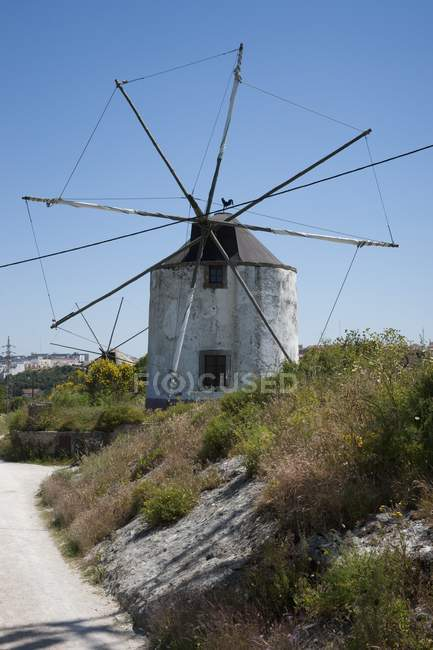 Large Windmill Now Used As A Home — Stock Photo