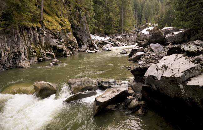 Nairn Falls, Whistler (Colombie-Britannique) — Photo de stock