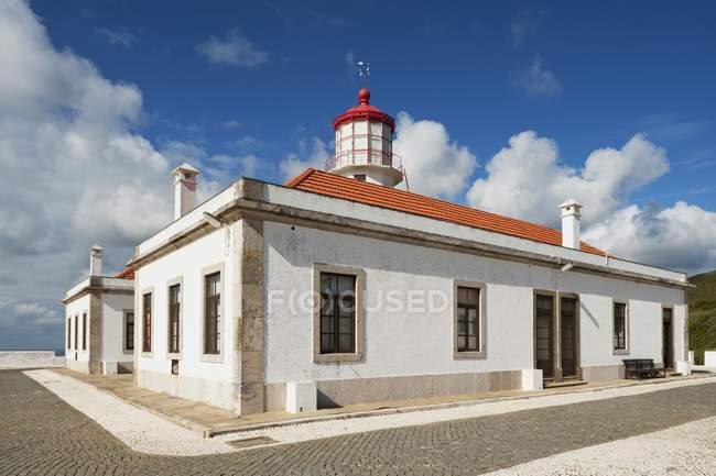 Cabo Mondego Lighthouse — Fotografia de Stock