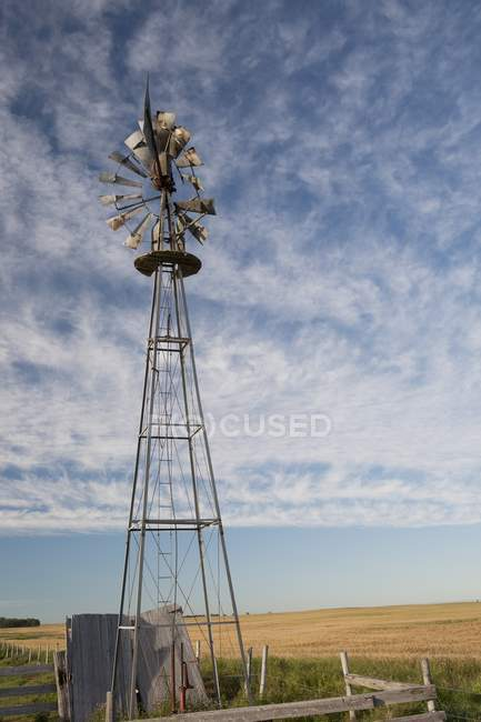 Старого млина вітер — стокове фото