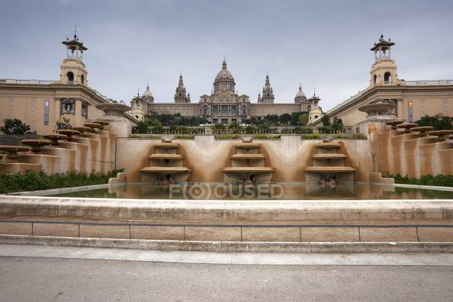 Montjuic Festung, Spanien — Stockfoto