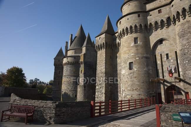 Chateau De Vitre — Stock Photo