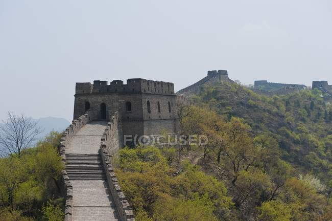 Great Wall Of China Outside Beijing — Stock Photo