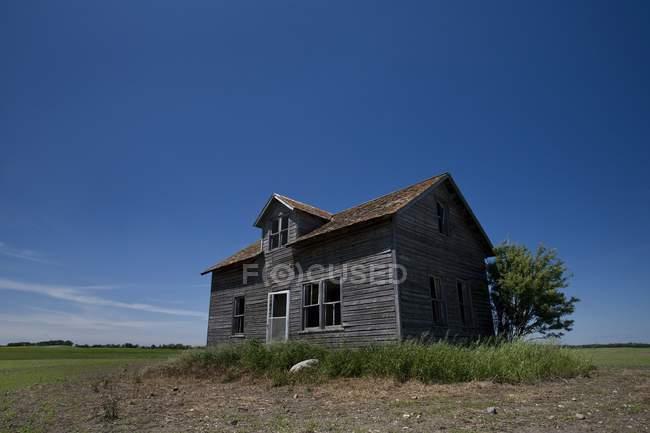 Casa Velha Abandonada — Fotografia de Stock