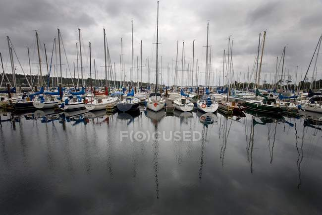 Royal Victoria Yacht Club, Victoria, British Columbia, Canada — Stock Photo