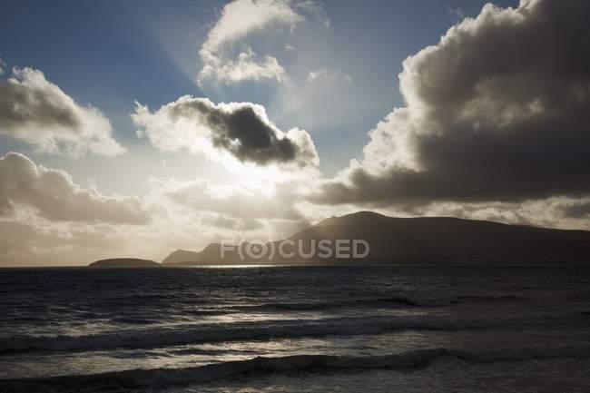 Coucher de soleil sur Ocean Horizon — Photo de stock