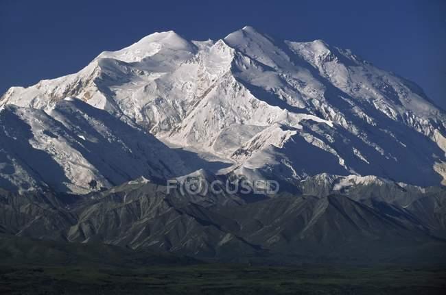 Snow-Capped Mount Mckinley — Stock Photo
