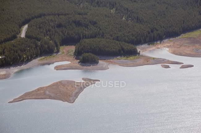 Lago de kananaskis inferior — Fotografia de Stock