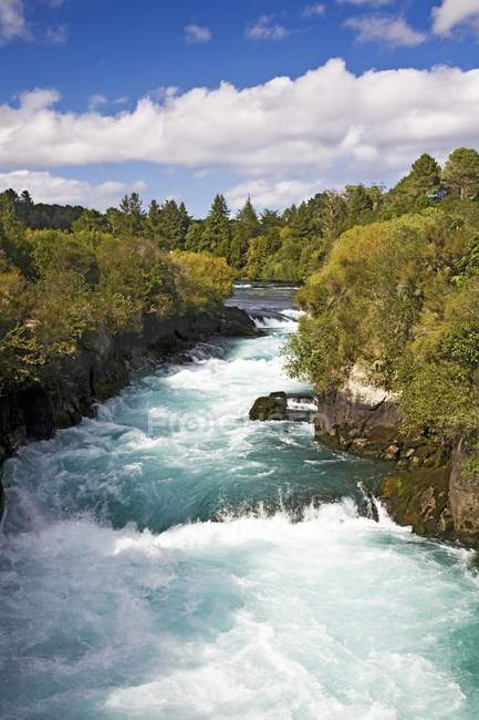 Rapid river water — Stock Photo