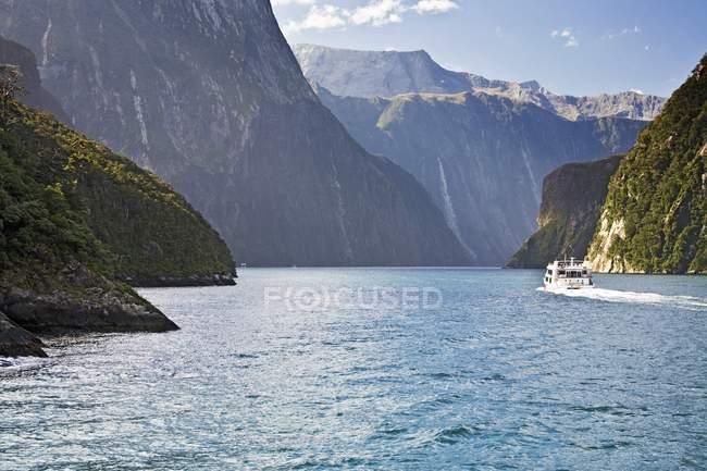 Parque Nacional de Fiordland — Fotografia de Stock