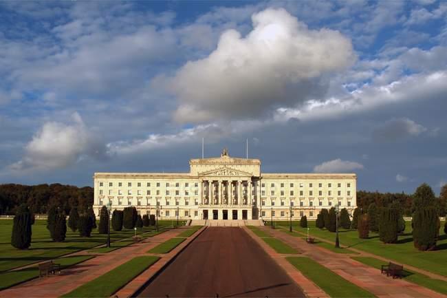 Stormont, Belfast, Ireland — Stock Photo