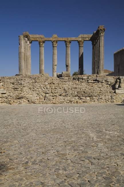 Ruines romaines antiques — Photo de stock