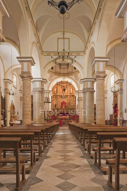 Церковь Сан-Себастьяна — стоковое фото