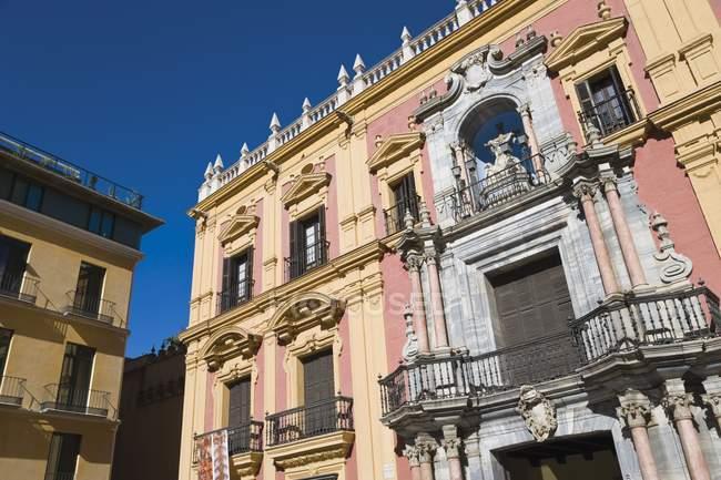 Palacio Episcopal en Málaga - foto de stock