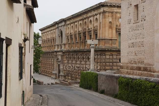 Palacio de Carlos V - foto de stock
