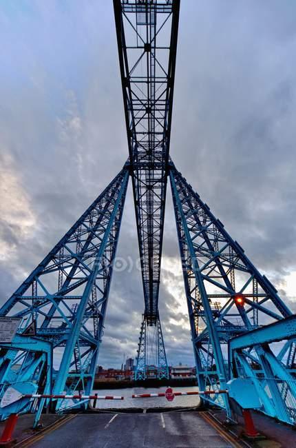 Tees Transporter Bridge — Stock Photo