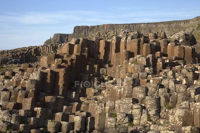 Natural Basalt Columns and  Rock Formations — Stock Photo