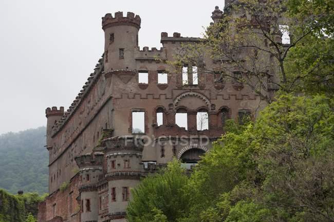 Bennerman's Castle On The Hudson River — Stock Photo
