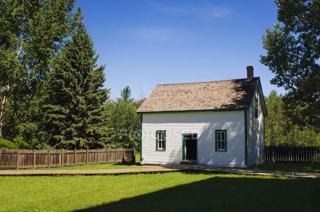 Pionero del House en Alberta - foto de stock