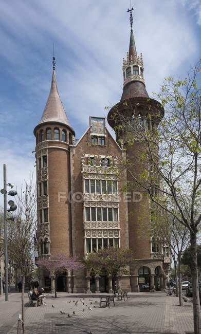 Casa Terrades, España - foto de stock