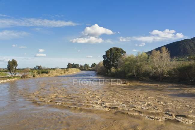 Guadalhorce River Near Estacion Cartama — Stock Photo