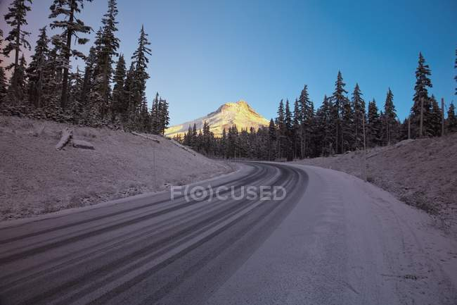 Highway 26, Mount Hood, Oregon — Stock Photo