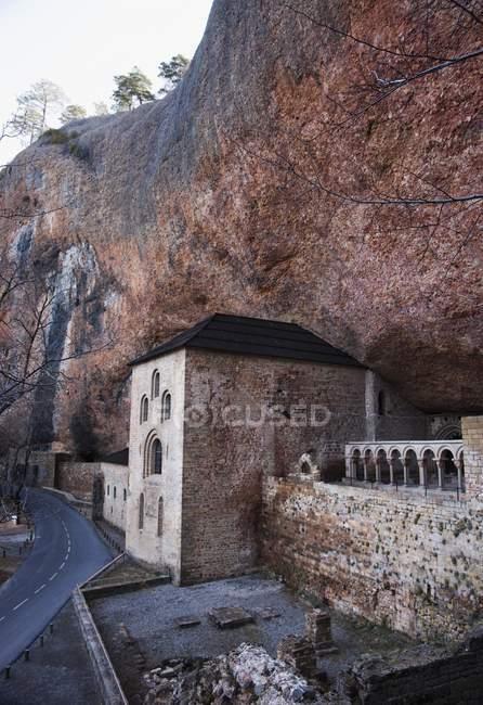 Mosteiro de San Juan De La Peña — Fotografia de Stock