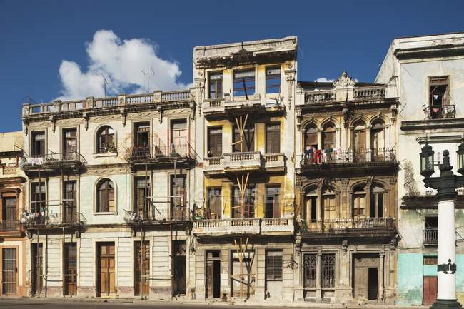 Case abitate cubane — Foto stock