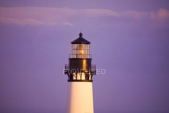 Yaquina Head Lighthouse, Oregon - foto de stock
