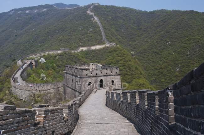 Великая китайская стена — стоковое фото
