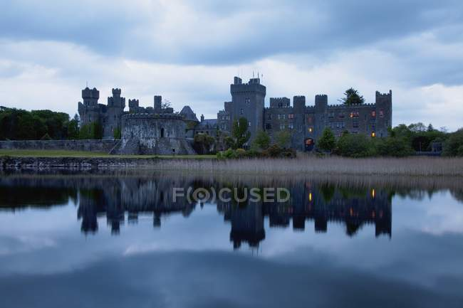 Ashford Castle Near Cong — Stock Photo