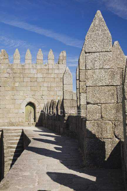 Exterior Of Medieval Castle — Stock Photo