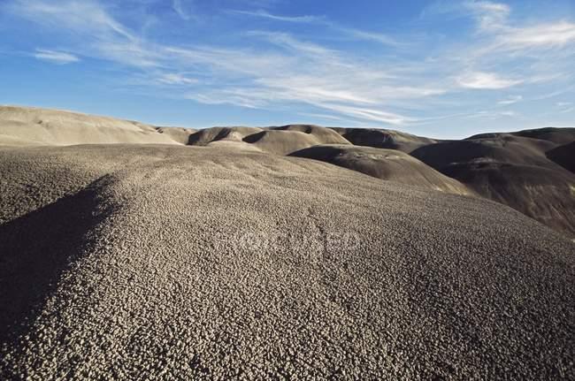 Badlands dépourvue de végétation — Photo de stock