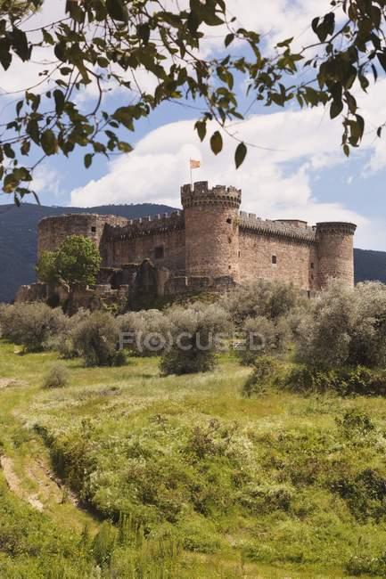 Замок XV століття. — стокове фото