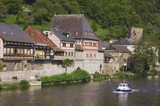 Dausenau, Rheinland-Pfalz, Deutschland — Stockfoto