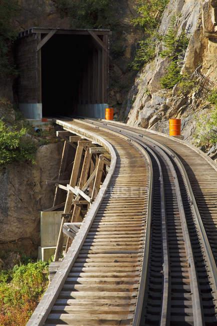 White Pass and Yukon Route Railroad — Photo de stock