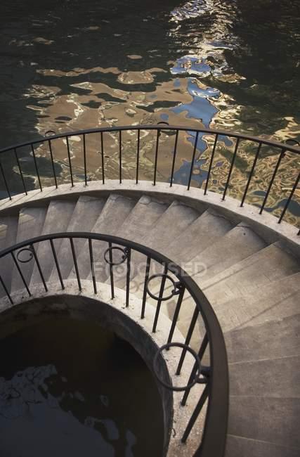 San Antonio, Stairs On Riverwalk — Stock Photo