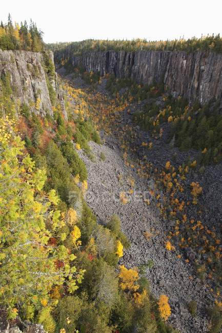 Ouimet Canyon in der Nähe der Thunder Bay — Stockfoto