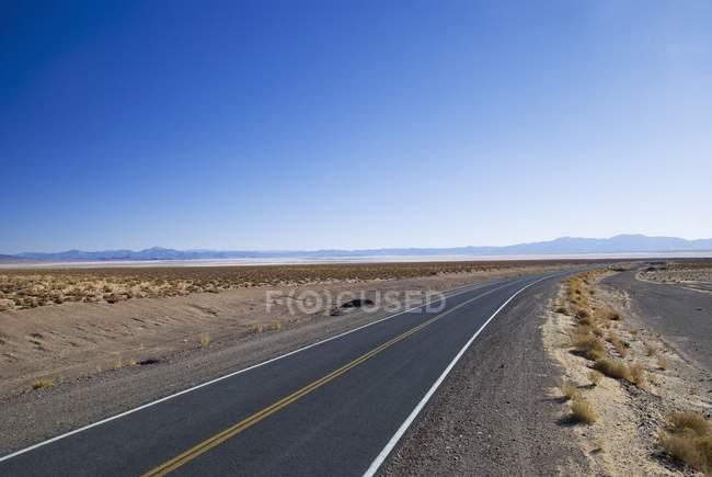Route rurale higway — Photo de stock