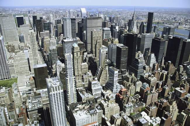 Blick auf Manhattan, New York City — Stockfoto