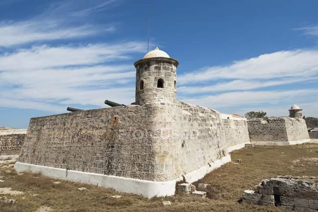 Castillo De San Salvador De La Punta — Stock Photo