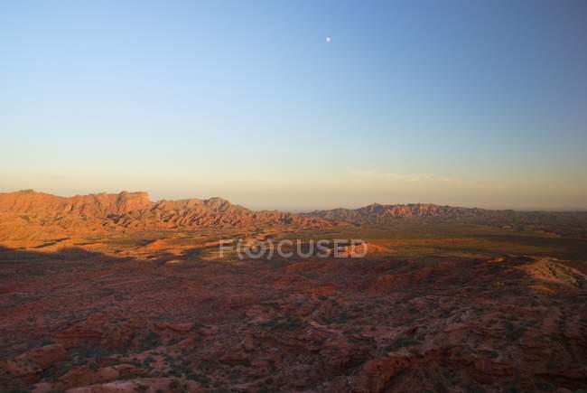 Landschaft im Provinzpark Ischigualasto; — Stockfoto