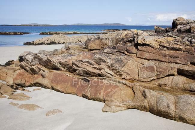 Rocky Coastline; Connemara — Stock Photo