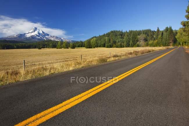 Дороги з Mount Hood — стокове фото