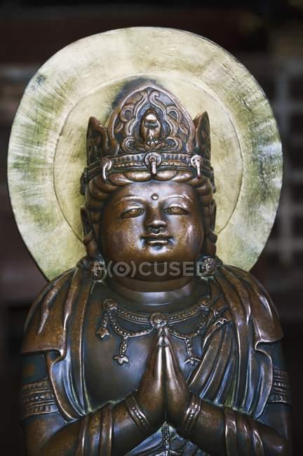 Estátua em Kiyomizu-Dera, Kyoto — Fotografia de Stock