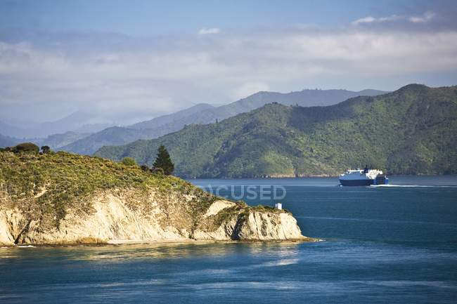 Chaffers Passage, Nueva Zelanda - foto de stock