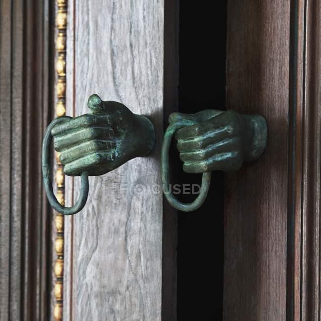Detail Of Door Handle — Stock Photo