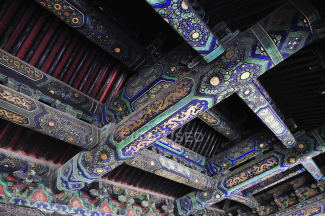 Celling in Forbidden city — Stock Photo