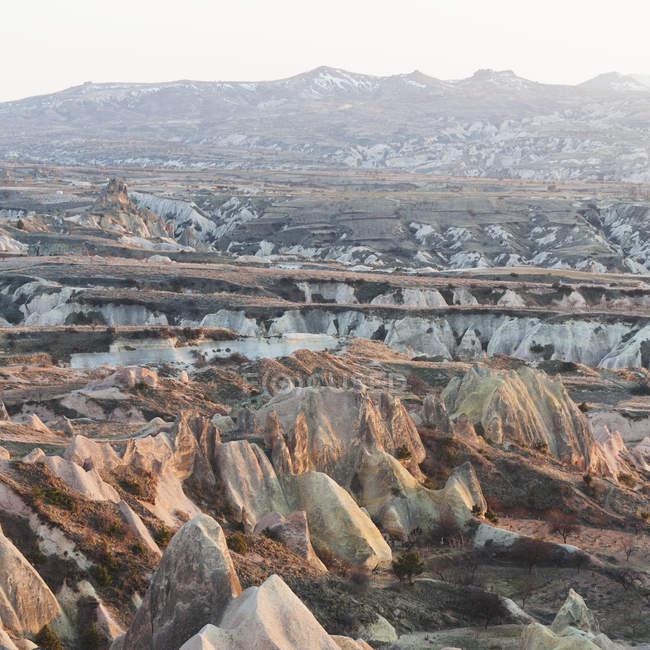 Vue du paysage accidenté — Photo de stock